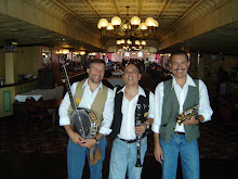 Antes del show en el Steamboat Natchez en New Orleans EEUU