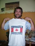 He love Canada!