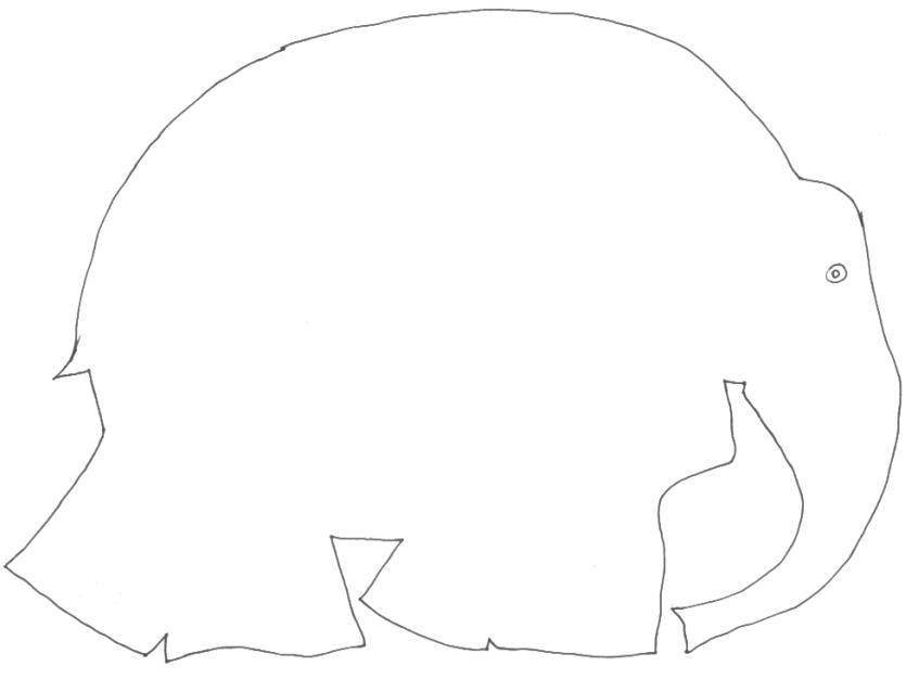 Elmer Elefante Da Colorare Elmer Elephant Coloring Page