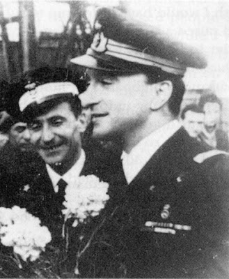 Commander Marco Revedin & Second-in-Command Federico de Siervo