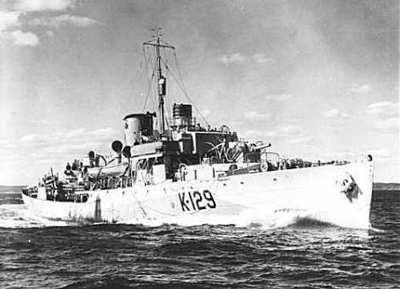 HMCS Agassiz (K-129)