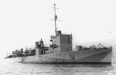 HMS Clare (I-14)