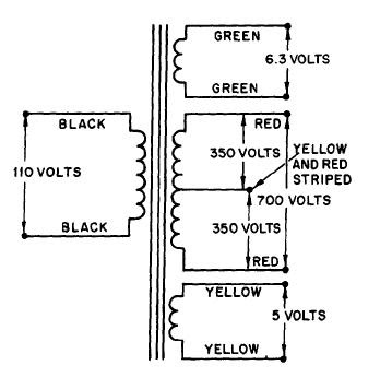 typical transformer wiring diagram transformer