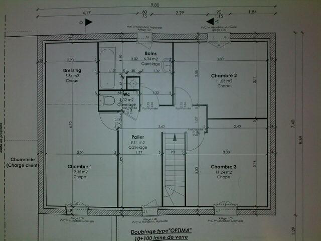 Plan Maison Marocaine 80m2
