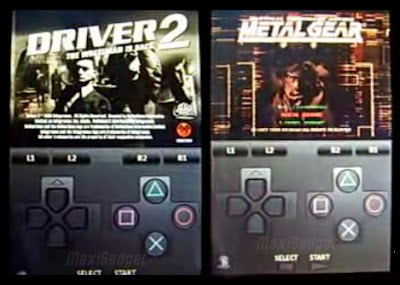 psx4iphone Emulateur PSX : Jeux Playstation sur iPhone (en Video)