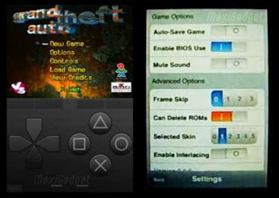 psx4iphone2 Emulateur PSX : Jeux Playstation sur iPhone (en Video)