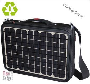 voltaic generator laptop1 La Sacoche Solaire Recharge votre Portable PC