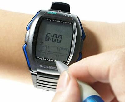 montre ecran digital