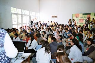 Los estudiantes se movilizan
