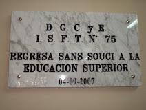 El ISFT Nº 75 en Sans Souci