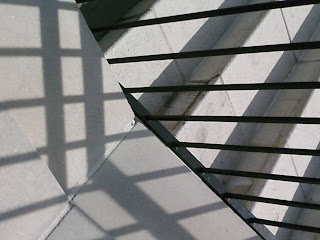 Lines and Shadows, cell phone photo by Sheila Cunningham