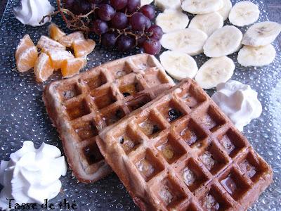 recettes dessert  Gauffres