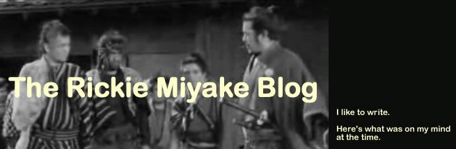 The Rickie Miyake Blog