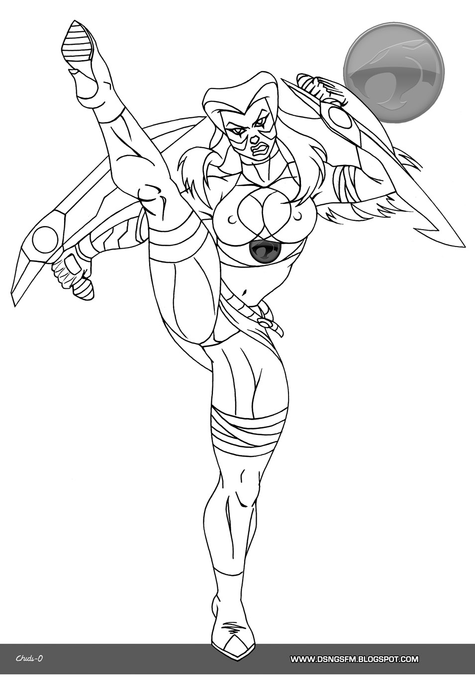 cheetara thundercats coloring pages - photo#16