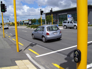 ニュージーランドの信号機