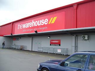 ニュージーランドthewarehouse