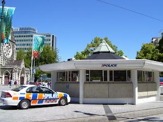 ニュージーランド パトカー