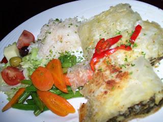 ニュージーランド ギリシャ料理写真