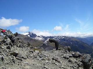 ニュージーランド アーサーズパス トレッキング 山登り 写真 画像