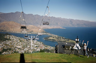 ニュージーランド クライストチャーチからクィーンズタウン 観光旅行 写真 画像