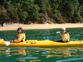 ニュージーランド エイベルタスマン カヤック 国立公園 旅行 写真 画像
