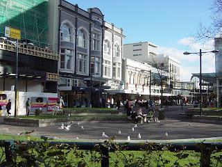 クライストチャーチ 町並み ニュージーランド オークランド 写真画像 風景