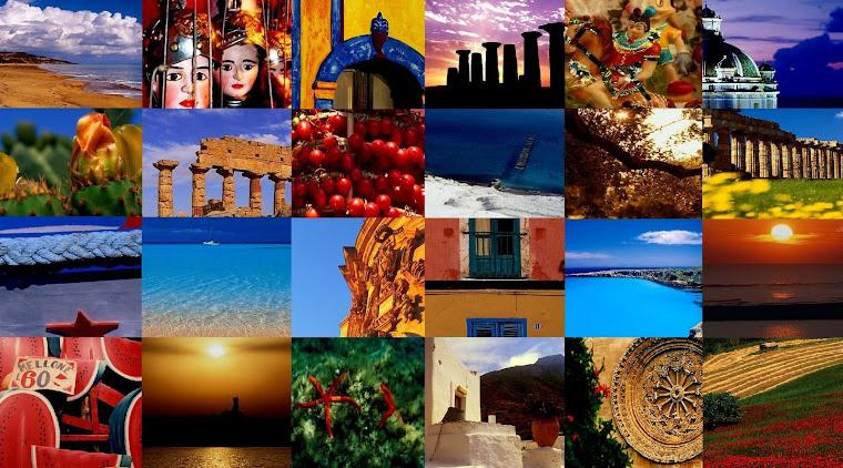 Un collage di colori