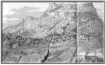 Gravure de la ville de Mardin
