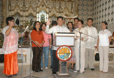 Calbayog City: Images from the 2007 Oath-Taking Ceremonies (2)