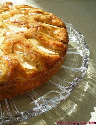 Cake Aux Pommes Er Noix De Coco
