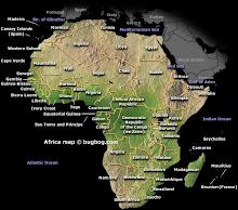 Afircas Map