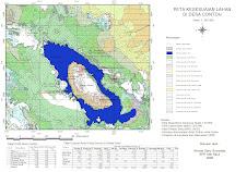 Peta Kesesuaian Jenis DTA Danau Toba
