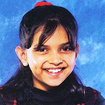 pictures of deepika padukone as little girl