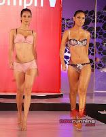 Indian Lingerie Models cat walk