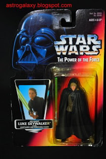 Star Wars 1995 Potf Vintage Style Luke Skywalker X-Wing Gear ~ Long Lightsaber