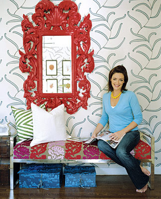 Erinn Valencich turquoise chic: at home with erinn valencich
