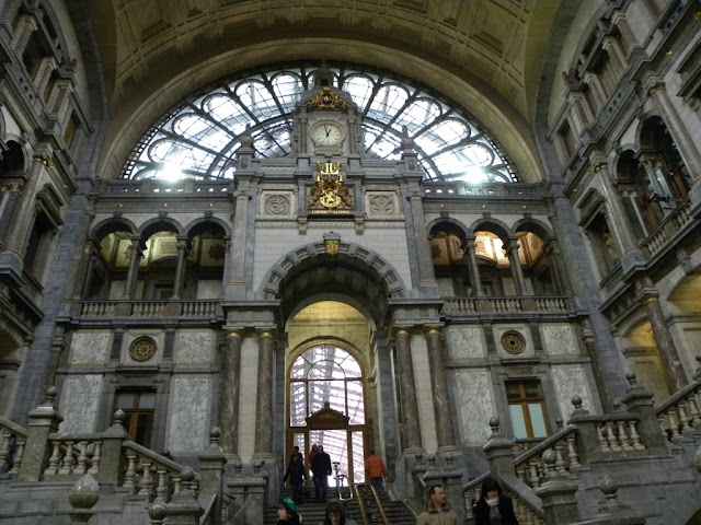 Central Station Antwerp Demuinck Pardon Centraal