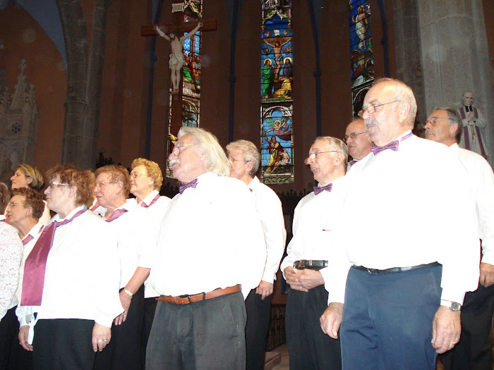 les messieurs de la chorale