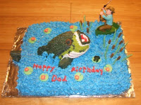 Luv 2 Make Cakes Big Bass Catch Of The Day Birthday Cake