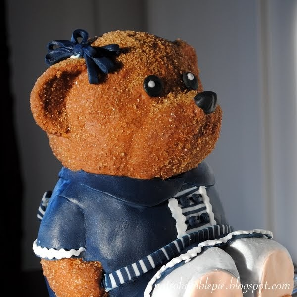 Not So Humble Pie Teddy Bear Birthday Cake