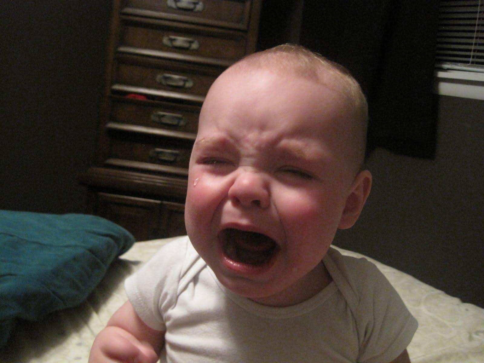 Baby Kyler Sad Baby Face