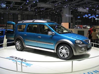Rank Dacia Car Pictures 2006 Dacia Logan Steppe Concept Photos