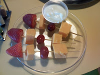 Kids' Fruit & Cheese Kabobs