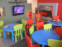 Kid's dining area