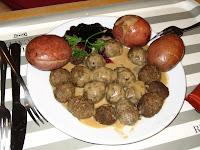 IKEA Meatball Plate