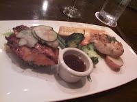 Half Salmon/Half Mahi Mahi entree