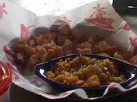 Joe's Kids Popcorn Shrimp dish