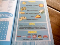 Joe's new kids menu
