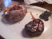 Dallas 6 oz Filet with Loaded Baked Potato