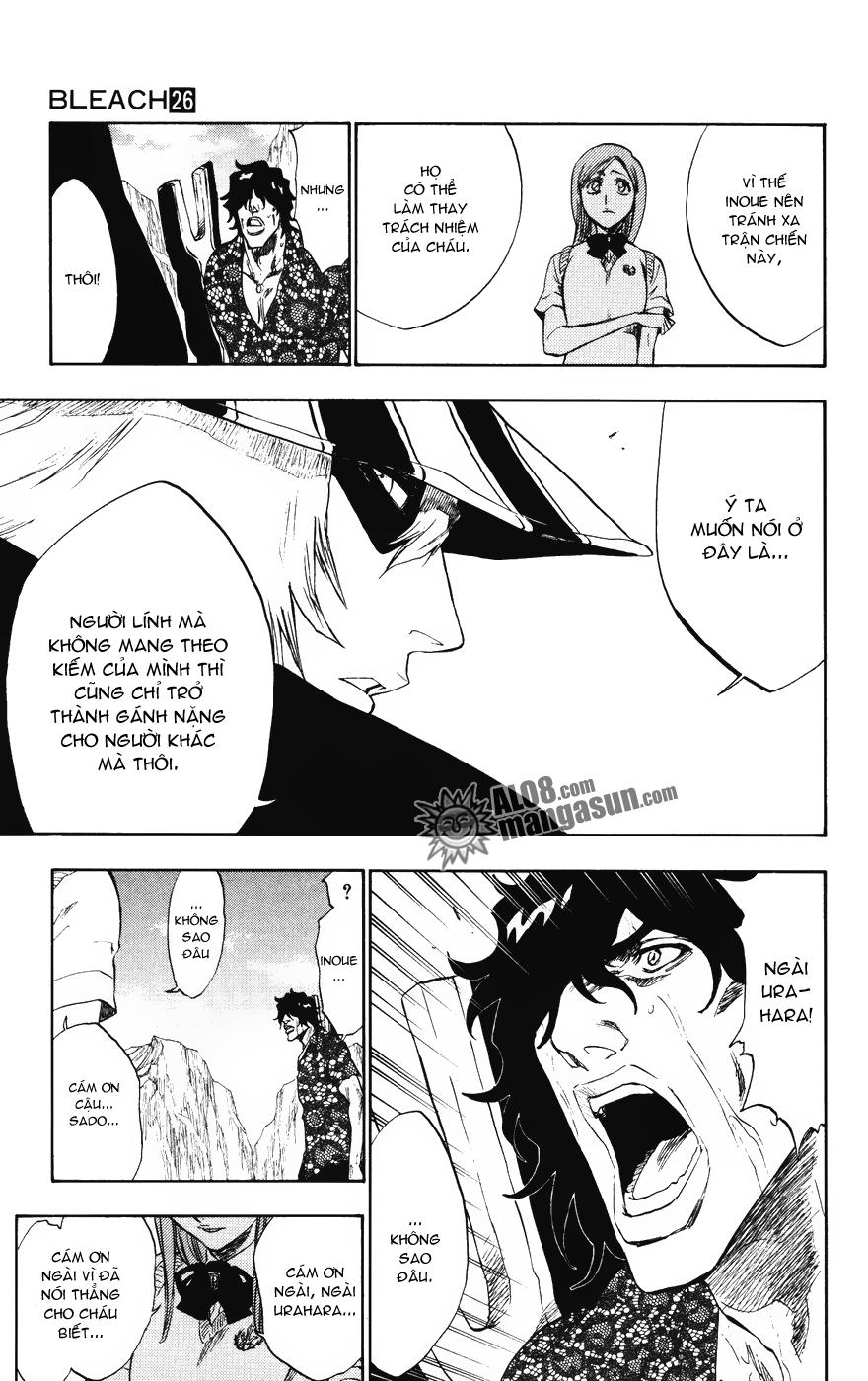 Bleach chapter 227 trang 16